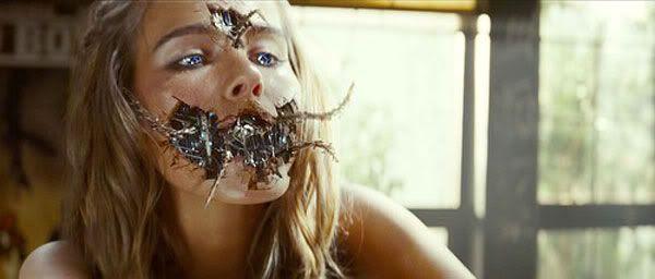 Isabel Lucas as Alice, the (Decepticon) Pretender in TRANSFORMERS: REVENGE OF THE FALLEN.
