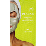 DERMAE Purifying 2 in 1 Charcoal Facial Mask 0.35 oz.