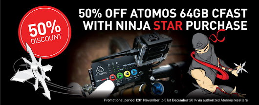 Ninja Star Promotion Nov 12th – Dec 31st, 2014 | Encore Broadcast Solutions