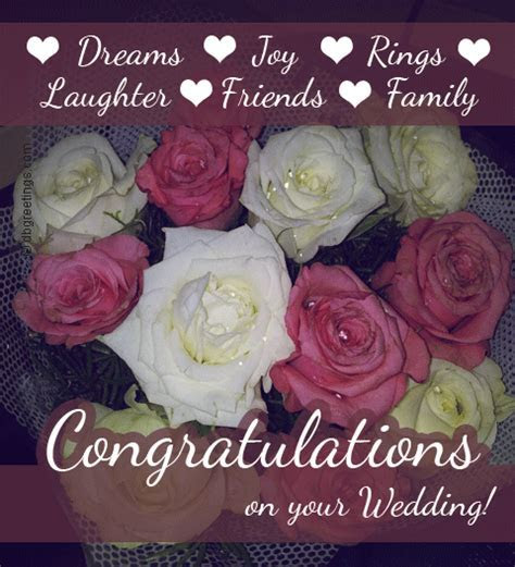 Wedding Wishes Congratulations   Best Wishes on your