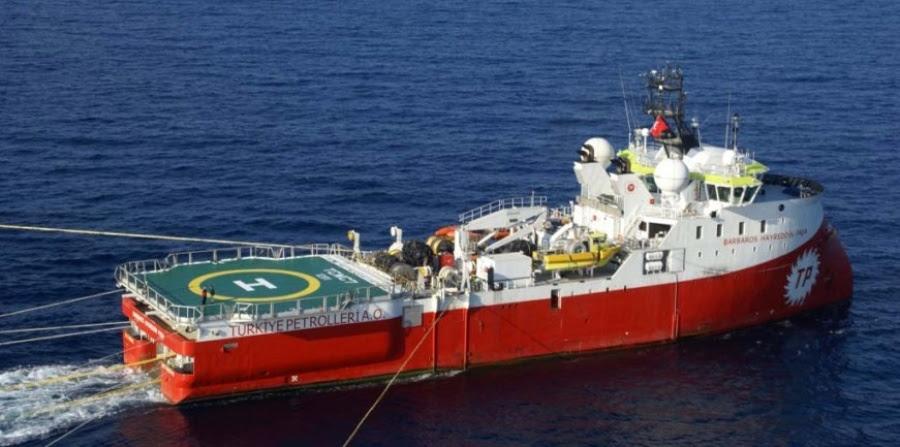 Επικίνδυνα «παιχνίδια» από την Τουρκία – Ξεκινά έρευνες για γεωτρήσεις εντός της κυπριακής ΑΟΖ