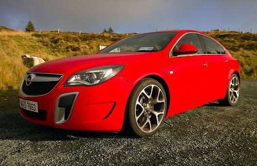 Opel wows with Insignia OPC