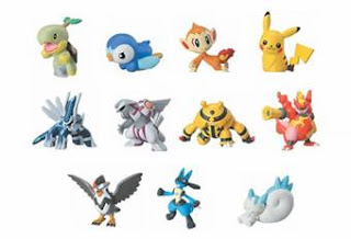Bandai Pokemon Clipping Figures