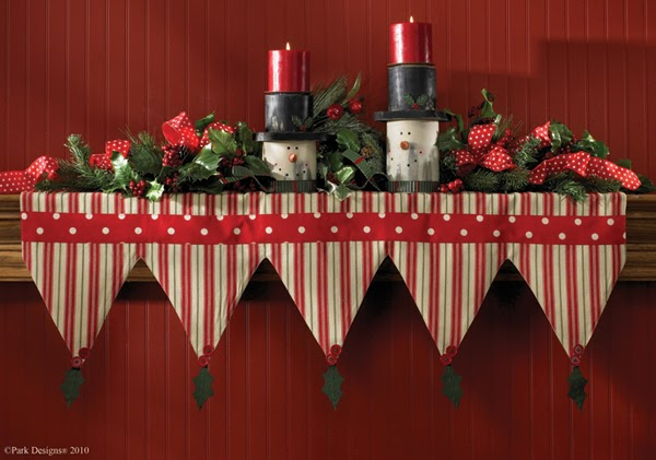 Country Home Decor Park Designs Holiday Table Linens And