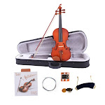 Glarry GV101 3/4 Size Beginner Acoustic Violin Solid Wood