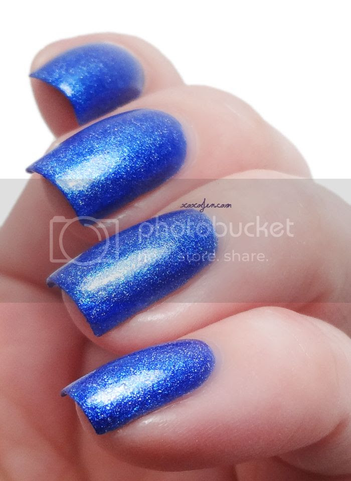 xoxoJen's swatch of Glam Polish The Polar Express