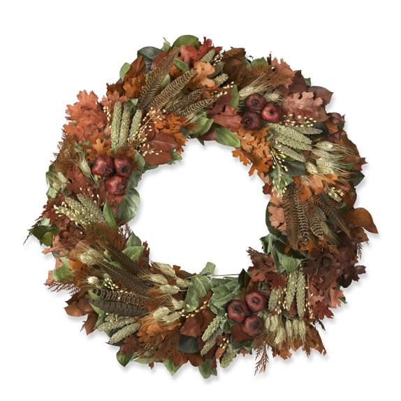 Pheasant Feather Wreath, 22