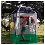 Mayday Deluxe Camp Shower / Shelter Combo - SH33-DLX