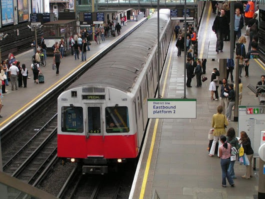 Farewell to the London Underground D78 stock trains