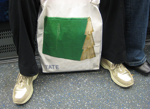 Tate Book Bag on the Tube