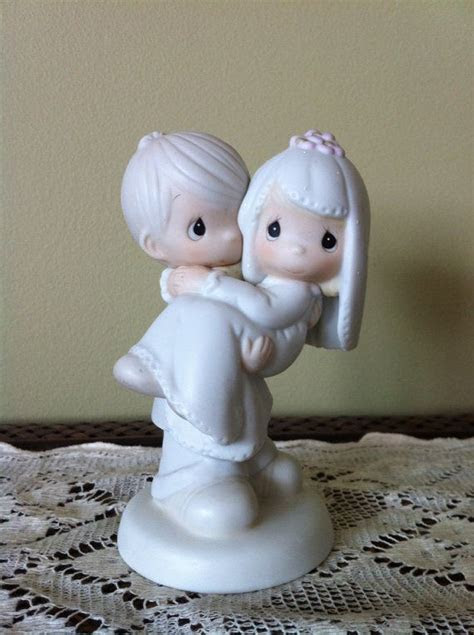 Precious Moments Bride and Groom. Cake Topper. by