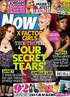 A entrevista completa com as meninas Fator X pode ser visto na edição desta semana da revista Now