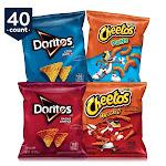 Frito-Lay Doritos & Cheetos Mix Variety Pack - 40 count