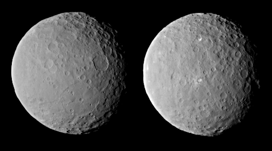 NASA's Dawn spacecraft is first to arrive at dwarf planet