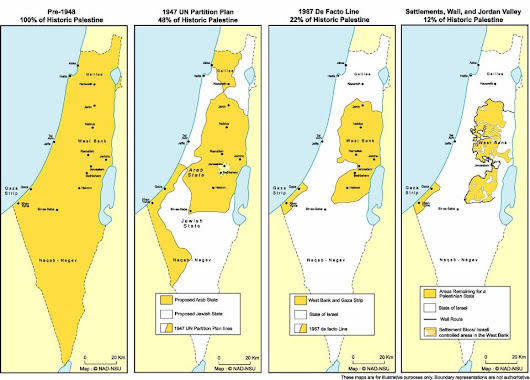 My biased view of the history of the Israel/Palestine conflict | trustno1's blog