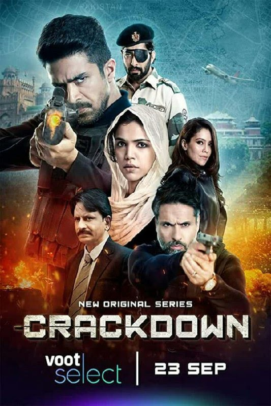 Crackdown Season 01 (2020) 480p 720p WebRip Hindi | Voot Select Series