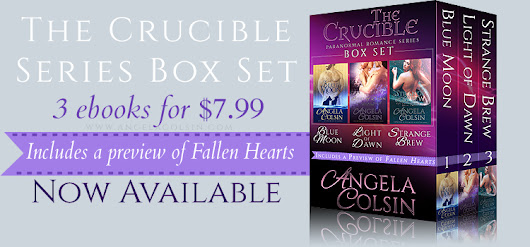 The Crucible Series Box Set is Out Today!
