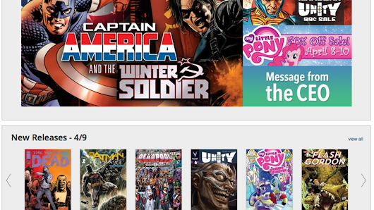 Amazon acquiring digital comics platform Comixology