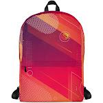 Compact Laptop Backpack - Heatwave
