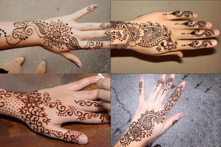 Tasmim Blog Beautiful Simple Mehndi Designs For Right Hand