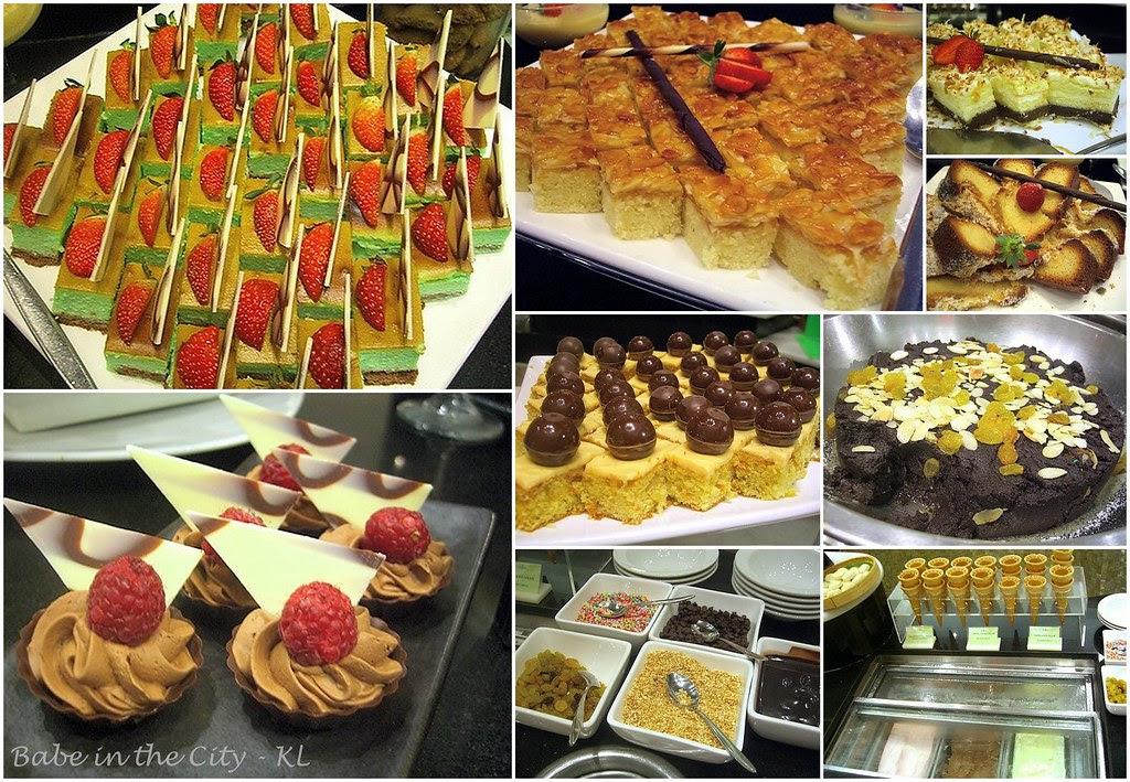 Paya Serai - Western desserts