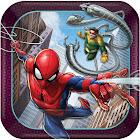 Spider Man 7in Plates