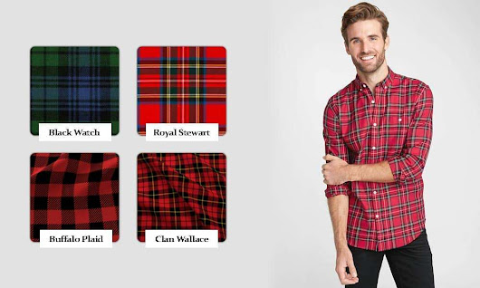 The Different Types of Plaid Pattern - Plaid Lover