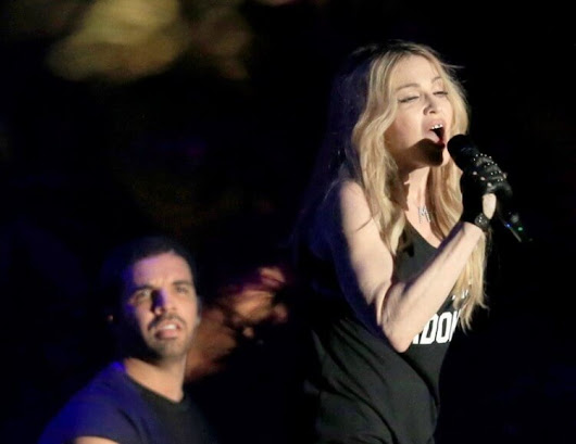 Hot : Madonna embrasse Drake | AlloCougar
