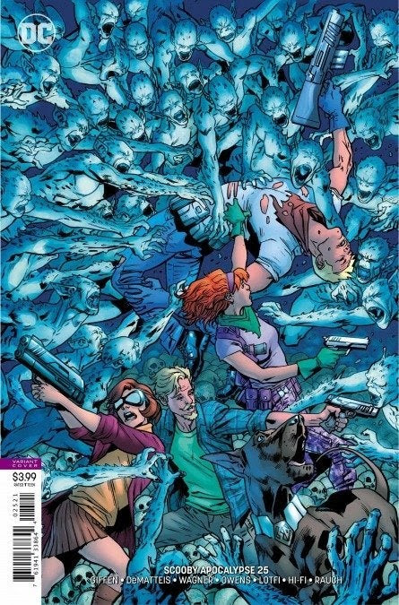 Scooby Apocalypse 25 - Fred Death