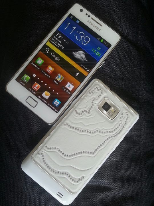 Crystal Edition do Samsung Galaxy S2 (Foto: Reprodução)