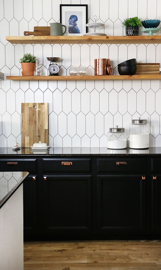 Kitchen Remodel Update: The Power of Paint - Persia Lou