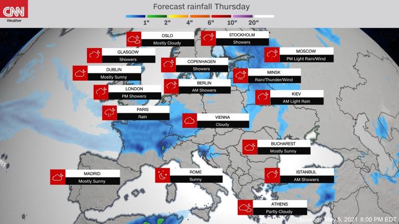 Predicció Europa