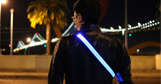 Extra-Bright LED Belt Could Save Lives [VIDEO]
