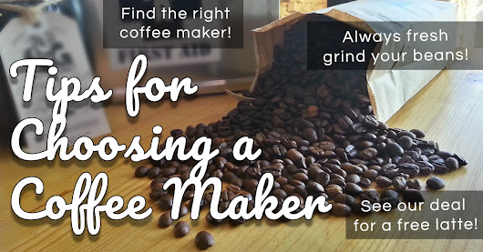 Tips for Choosing a Coffee Maker - HG Higher Grounds Roastery and Cafe