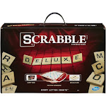 Hasbro - Scrabble Deluxe Edition Game - board game, word game