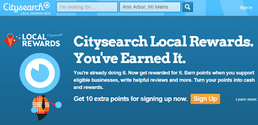 Citysearch Local Rewards: the Newest Answer to Yelp's Elite Squad | LocalVisibilitySystem.com