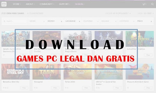 6 Website Tempat Download Game PC Premium Gratis + Legal