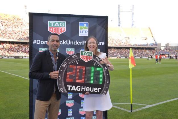 TAG Heuer : chronométreur officiel de la Ligue de Football Professionnel