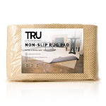 Tru Lite Bedding Non-Slip Mat for Area Rugs - Extra Strong Grip Indoor Carpet Pad - Anti-Skid Washable Gripper Pad - Anchor Furniture and Rugs to Floors and Prevent