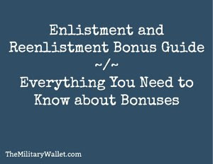 reenlistment bonus guide
