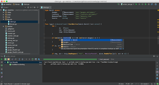 JetBrains Gogland: Up and Coming Go IDE