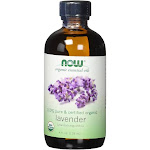 Organic Lavender Oil - 4 oz. Now Foods 4 fl oz