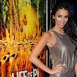 Abba called... they want their jumpsuit back! Georgia Salpa wears a metallic onesie to the Life Of Pi UK premiere