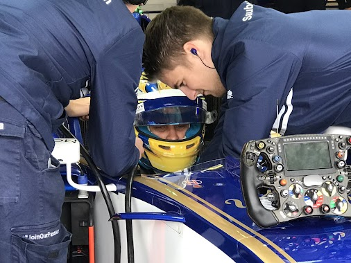 #FP3 is on and our boys are out on the track 🇬🇧🚀  #SauberF1Team #25YearsInF1 #F1 #BritishGP #Formula1...
