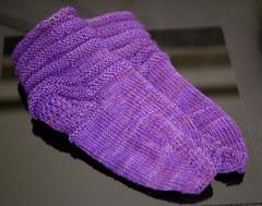 Purple Smooshy Socks 1