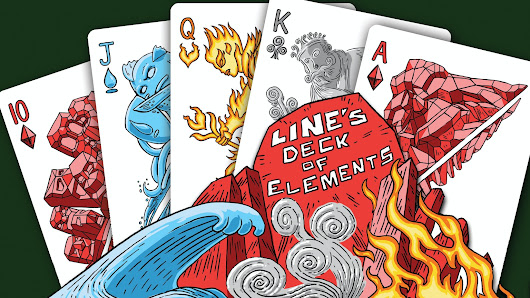 Line's Deck Of Elements