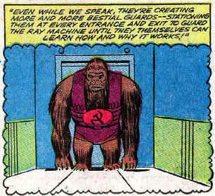 Giant Intelligent Commie Apes!
