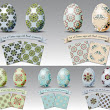 Perfect Easter eggs and backgrounds templates vector | free download