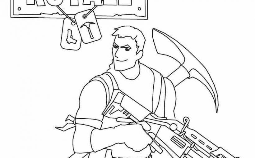 coloriage fortnite skin apanageet com dibujos para pintar fortnite fortnite battle royale coloring page - fortnite para dibujar banana