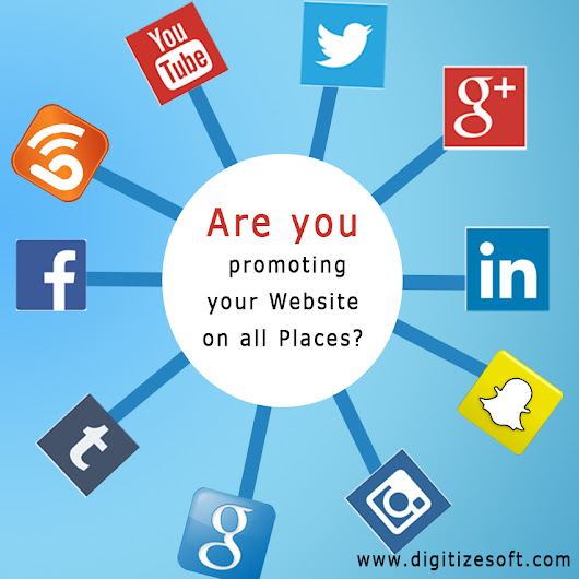 Are you promoting your Website on all Places?